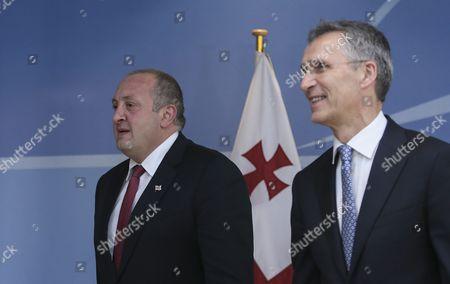 Editorial image of Belgium Georgia Nato Diplomacy - Jun 2016