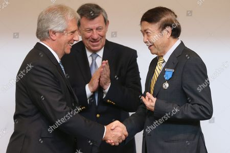 Editorial image of China Uruguay Diplomacy - Oct 2016