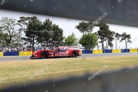 Editorial photo of France 24h Le Mans Cars Racing - Jun 2015