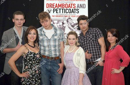 Scott Bruton, Jennifer Bidall, A.J.Dean, Daisy Wood-Davis and Ben Freeman