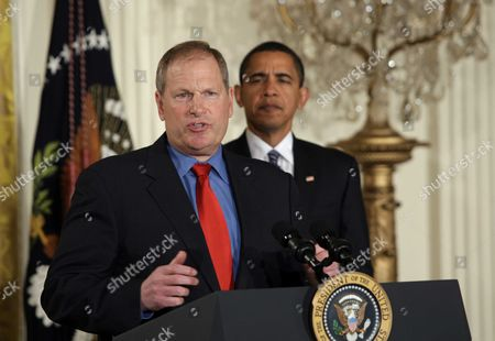 Editorial photo of President Barack Obama Discusses the Economy, Washington DC, America - 28 Jan 2009