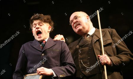 Richard Cordery and Iwan Rheon