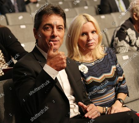 Us Actor Scott Baio in the Stands Prior to the Start of the Final Presidential Debate at the University of Nevada-las Vegas in Las Vegas Nevada Usa 19 October 2016 the Debate is the Final of Three Presidential Debates and One Vice Presidential Debate Before the Us National Election on 08 November 2016 United States Las Vegas