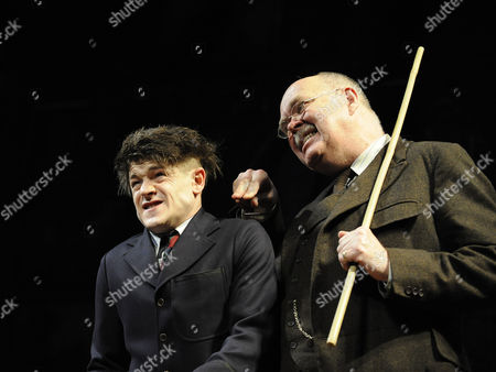 Iwan Rheon and Richard Cordery