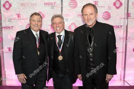 Steve Gatlin, Larry Gatlin and Rudy Gatlin of The Gatlin Brothers