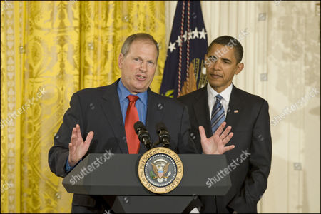 President Barack Obama with David M. Cote, Chairman and CEO, Honeywell.