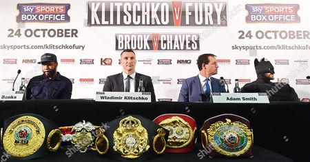 Editorial image of Britain Boxing Heavyweight Klitschko Vs Fury - Sep 2015