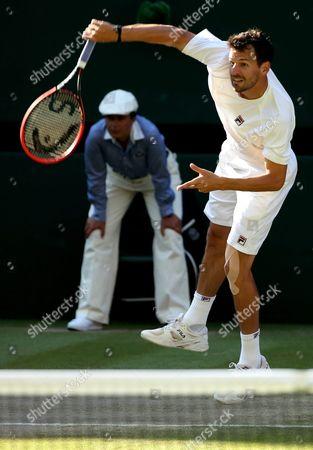 Editorial image of Britain Tennis Wimbledon 2015 Grand Slam - Jul 2015