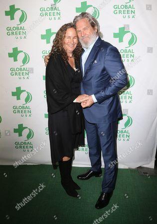 Stock Image of Jeff Bridges, Dianna Cohen