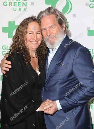 Stock Photo of Jeff Bridges, Dianna Cohen