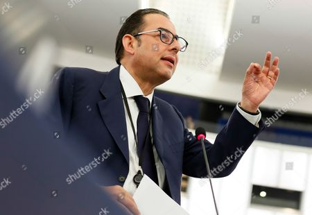Gianni Pittella Chairman of the Progressive Alliance of Socialists and Democrats in the European Parliament Delivers His Speech During a Debate on Migration at the European Parliament in Strasbourg France 07 June 2016 France Strasbourg