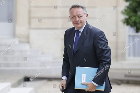 French Junior Minister For Sports Thierry Braillard Arrives at the Elysee Palace After a Cabinet Meeting in Paris France 03 August 2016 France Paris