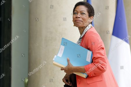 French Minister For Overseas Territories George Pau-langevin Arrives at the Elysee Palace After a Cabinet Meeting in Paris France 03 August 2016 France Paris