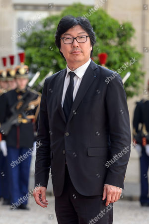 French Minister For State Reform Jean-vincent Place Arrives For a State Dinner Hosted by French President Francois Hollande For South Africa's President Jacob Zuma (both not Pictured) at the Elysee Palace in Paris France 11 July 2016 Zuma is in Paris For a Three-day State Visit France Paris