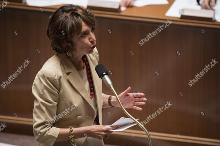 French Health Minister Marie Sol Touraine Speaks During a Session at the French National Assembly in Paris France 14 June 2016 the Disputed Labour Reform Bill is Going Through Debate in Senate For Adjustments Before the Final Vote in Parliament Epa/jeremy Lempin France Paris