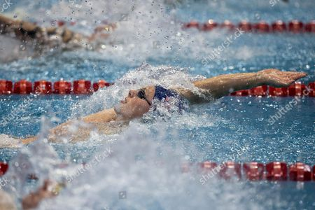 Stock Picture of Roberto Pavoni of Great Britain Competes in the Men 400 M Medley Preliminary at the Len European Short Course Swimming Championships in Netanya Israel 03 December 2015 Israel Netanya