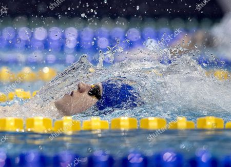 Roberto Pavoni of Great Britain Competes in the Men 400 M Medley Preliminary at the Len European Short Course Swimming Championships in Netanya Israel 03 December 2015 Israel Netanya