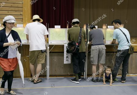 Editorial photo of Japan Election Tokyo Governor - Jul 2016