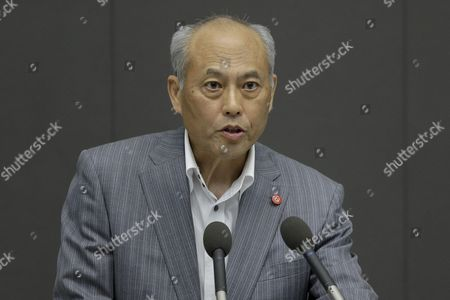 Tokyo Governor Yoichi Masuzoe Speaks at a Plenary Session of the Tokyo Metropolitan Assembly at the Prefectural Parliament Building in Tokyo Japan 15 June 2016 Earlier in the Day Masuzoe Handed in His Resignation After Receiving Criticism on His Usage of Political Funds Japan Tokyo