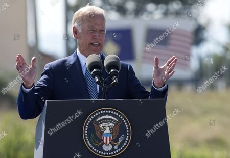 Us Vice President Joe Biden Delivers a Speech During a Street Dedication Ceremony Hosted by the Government of Kosovo in Honor of Their Late Son Joseph R 'Beau' Biden Iii Near the Military Camp Bondsteel Kosovo 17 August 2016 Us Vice President Joe Biden and His Wife Dr Jill Biden Arrived on 16 August For a Two-day Visit to Kosovo the Vice President Will Be Participating in Bilateral Meetings with President Hashim Thaci and Prime Minister Isa Mustafa Macedonia, the Former Yugoslav Republic of Ferizai