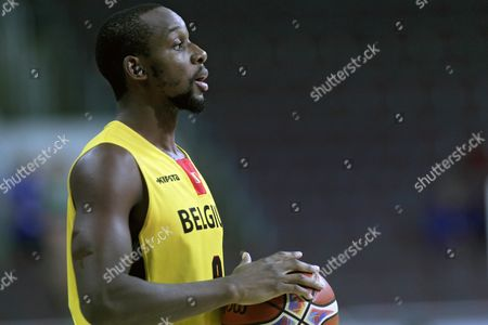 Jonathan Tabu of Belgium During the Eurobasket 2015 Match Between Belgium and Czech Republic in Riga Latvia 09 September 2015 Latvia Riga