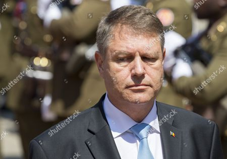Grand Duke Henri of Luxembourg (not Pictured) Welcomes Romania's President Klaus Iohannis During a State Visit in Luxembourg 06 June 2016 Romania's President Klaus Iohannis and His Wife Carmen Johannis Are Visiting Luxembourg For Two Days Luxembourg Luxembourg
