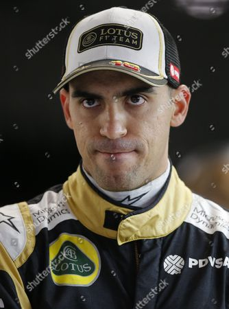 Venezuelan Formula One Driver Pastor Maldonado of Lotus F1 Team During the Second Practice Session at the Sochi Autodrom Circuit in Sochi Russia 09 October 2015 the 2015 Formula One Grand Prix of Russia Will Take Place on 11 October 2015 Russian Federation Sochi