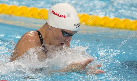 Jessica Hardy of the Usa Competes During the Women's 50m Breastsroke Heats at the 16th Fina World Championships in Kazan Russia 08 August 2015 Russian Federation Kazan