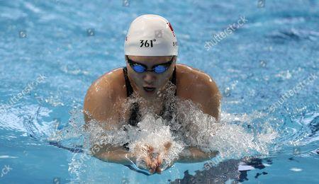 Shiwen Ye of China Competes in the Women's 200m Individual Medley Heats of the Fina Swimming World Championships 2015 in Kazan Russia 02 August 2015 Russian Federation Kazan