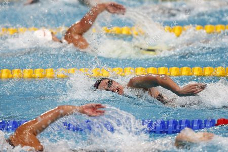 Melani Costa of Spain Competes in the Women's 200m Freestyle Heats During the Fina Swimming World Championships at Kazan Arena in Kazan Russia 04 August 2015 Russian Federation Kazan