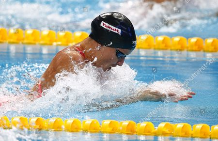 Jessica Hardy of Usa Competes in the Women's 50m Butterfly Semi Final During the Fina Swimming World Championships at Kazan Arena in Kazan Russia 08 August 2015 Russian Federation Kazan