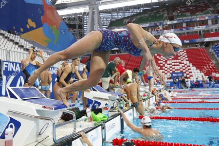 Jessica Hardy of the Usa Performs During a Training Session at the Fina Swimming World Championships in Kazan Russia 30 July 2015 Russian Federation Kazan