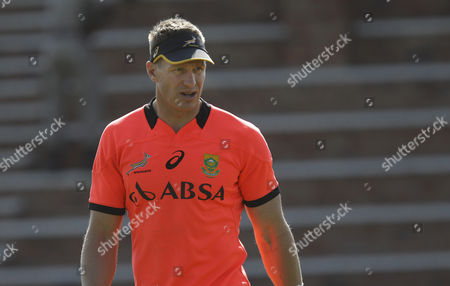 Springbok Rugby Team Captain Jean De Villiers Trains with the Rest of the Springbok Team As They Prepare For the Irb Rugby World Cup 2015 Johannesburg South Africa 09 September 2015 South Africa Johannesburg