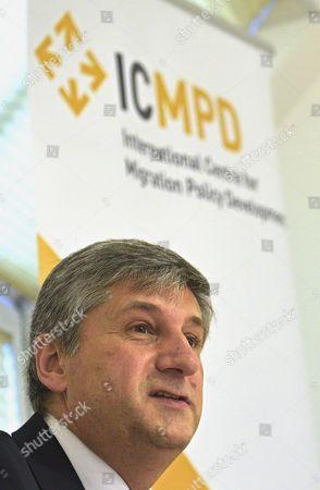 Editorial photo of Austria Icmpd Migration - Jan 2016