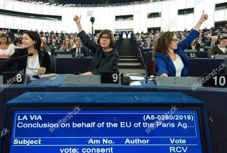 Editorial picture of France Eu Un Parliament - Oct 2016