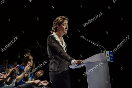 Ingrid Betancourt Former Presidential Candidate For Colombia Speaks During the Right-wing Les Republicains (lr) Party's Rally at the Zenith Venue in Paris France 09 October 2016 Betancourt Officialy Supports the Candidature of Nicolas Sarkozy at the Primaries Campaign Ahead of the 2017 Presidential Election France Paris