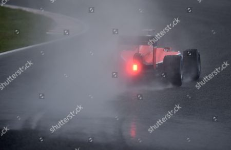 British Formula One Driver Will Stevens of Manor Marussia F1 Team in Action During the First Practice Session of the Japanese Formula One Grand Prix at the Suzuka Circuit in Suzuka Central Japan 25 September 2015 the Japanese Formula One Grand Prix Will Be Held on 27 September 2015 Japan Suzuka