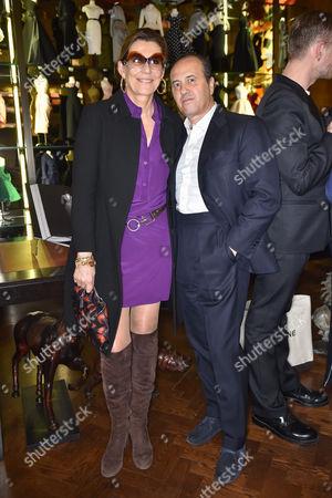 Martine and Prosper Assouline