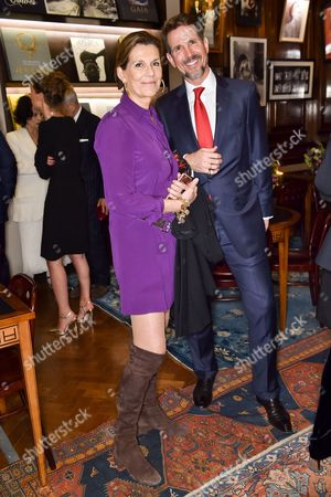 Martine Assouline and Crown Prince Pavlos Of Greece