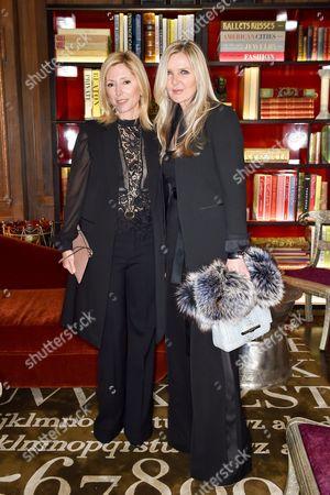 Crown Princess Marie-Chantal and Amanda Wakeley