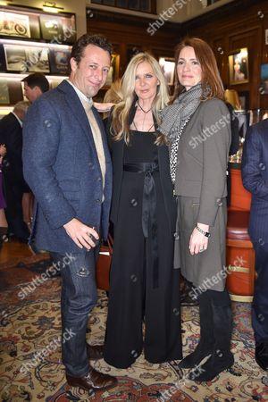 Stock Photo of Toby Rowland, Amanda Wakeley and Plum Sykes