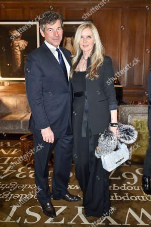 Hugh Morrison and Amanda Wakeley