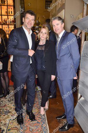 Hugh Morrison, Isabelle Dubern and Pierre de Maigret