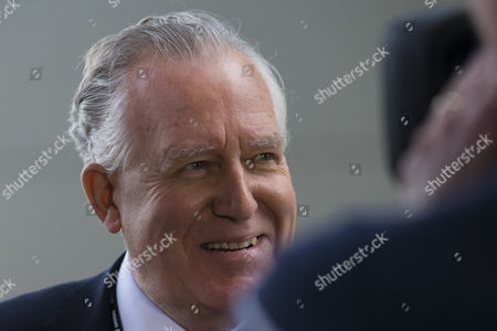 Peter Hain Former Leader of the House of Commons Speaks to Reporters Upon His Arrival For the Third Day of the Labour Party Conference in Liverpool Britain 27 September 2016 Britain's Labour Party Annual Conference 2016 Takes Place in Liverpool From 25 to 28 September 2016 United Kingdom Liverpool
