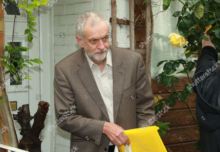 Britain's Labour Party Leader Jeremy Corbyn Leaves His Home in North London Britain 27 June 2016 Following the Sacking of Hillary Benn the Party's Shadow Foreign Secretary Around 16 Labour Party Members Resigned on 26 June in Protest of Corbyn's Poor Leadership During the Referendum Campaign United Kingdom London