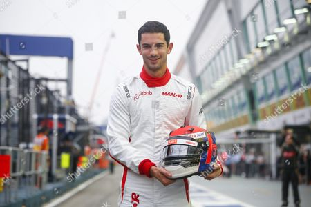 Us Formula One Driver Alexander Rossi of Manor Marussia F1 Team in Action During the First Practice Session of the Singapore Formula One Grand Prix Night Race in Singapore 18 September 2015 Rossi Will Make His Debut at the Singapore Grand Prix on 20 September Replacing Manor's Roberto Merhi For the Rest of the Season Singapore Singapore