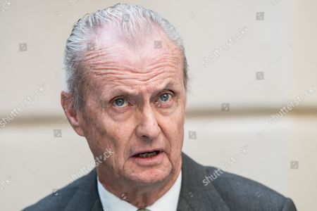 Spanish Defence Minister Pedro Morenes Eulate Speaks During the Informal Meeting of the European Union (eu) Defence Ministers in Bratislava Slovakia 27 September 2016 Slovakia (slovak Republic) Bratislava