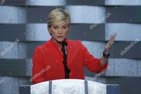 Stock Photo of Former Michigan Governor Jennifer Granholm Delivers Remarks on Stage During the Final Day of the Democratic National Convention at the Wells Fargo Center in Philadelphia Pennsylvania Usa 28 July 2016 the Four-day Convention is Expected to End with Hillary Clinton Formally Accepting the Nomination of the Democratic Party As Their Presidential Candidate in the 2016 Election United States Philadelphia
