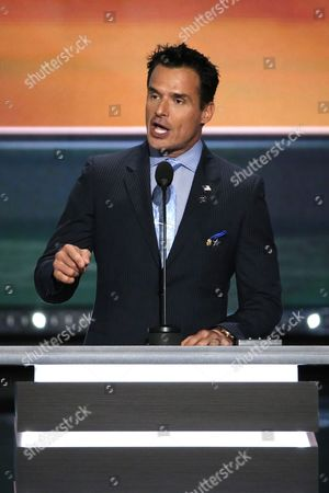 Us Actor Antonio Sabato Jr Speaks During the First Day of the 2016 Republican National Convention at Quicken Loans Arena in Cleveland Ohio Usa 18 July 2016 the Four-day Convention is Expected to End with Donald Trump Formally Accepting the Nomination of the Republican Party As Their Presidential Candidate in the 2016 Election United States Cleveland