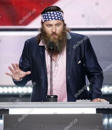 Ceo of the Duck Commander Willie Robertson Speaks During the First Day of the 2016 Republican National Convention at Quicken Loans Arena in Cleveland Ohio Usa 18 July 2016 the Four-day Convention is Expected to End with Donald Trump Formally Accepting the Nomination of the Republican Party As Their Presidential Candidate in the 2016 Election United States Cleveland